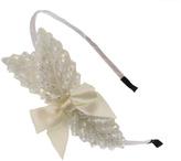 Violet & Virtue Beaded Leaf Headband