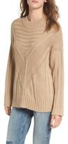 Moon River Women's Oversize Drop Shoulder Sweater