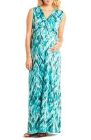 Everly Grey Women's 'Jill' Maternity Maxi Dress