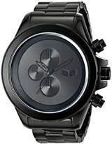 Vestal Men's ZR3008 ZR-3 Chronograph Black Minimalist Watch