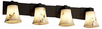 Keyon 4-Light Vanity Light Brayden Studio Finish: Antique Brass