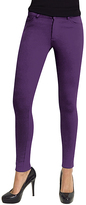 Me Moi Purple Grape Ponté Leggings