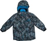 Big Chill Charcoal Camo Board Jacket - Boys