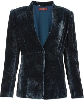 Max Mara Tailored Velvet Blazer