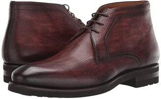 Magnanni Malone (Mid Brown) Men's Shoes