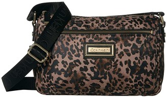 Calvin Klein Belfast Nylon Crossbody (Leopard) Cross Body Handbags