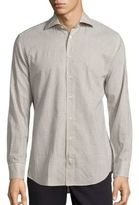 Luciano Barbera Long Sleeve Dotted Shirt