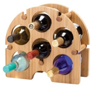 Oenophilia Bamboo Arch Wine Rack