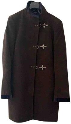 Fay Brown Suede Jacket for Women