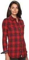 Woolrich Women's Malila Peak Crinkled Flannel Shirt