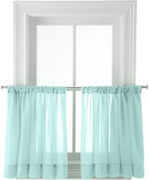 Martha Stewart MarthaWindowTM Voile Rod-Pocket Window Tiers
