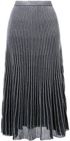 Proenza Schouler pleated mid-length skirt - women - Silk/Spandex/Elastane - XS