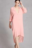 Forever 21 Boho Me High-Low Shirt Dress