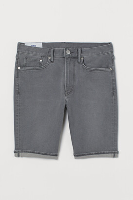 H&M Slim Denim Shorts