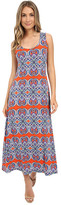 Christin Michaels Keira Paisley Maxi Dress