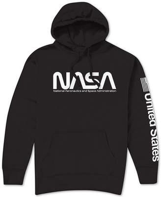Hybrid Nasa Logo Men Hoodie