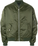 Golden Goose Deluxe Brand gathered sleeve bomber jacket
