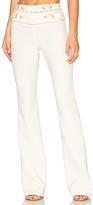 Pierre Balmain High Waist Wide Leg Pant in White. - size 38/4 (also in 40/6)