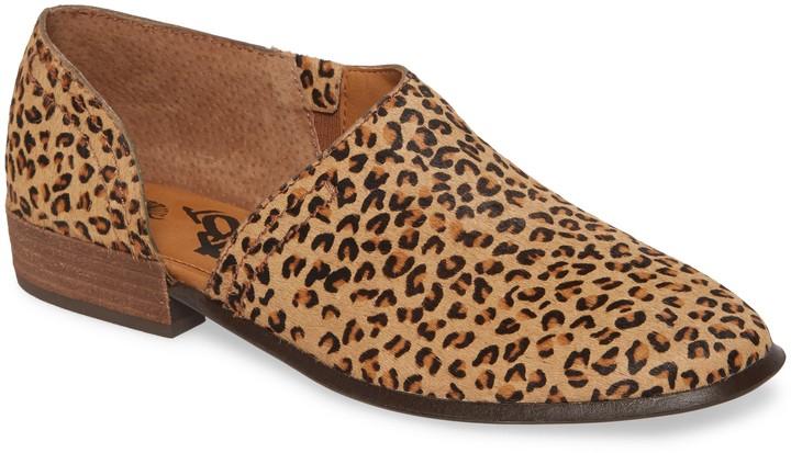 OTBT Coyote Half d'Orsay Genuine Calf Hair Shoe