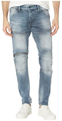 G Star G-Star 5620 3D Zip Knee Skinny in Faded Quartz (Faded Quartz) Men's Jeans