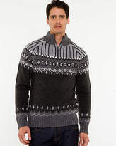 Le Château Wool Blend Funnel Neck Sweater