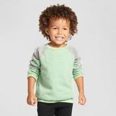 Cat & Jack Toddler Boys' Sweatshirt - Cat & Jack Heather Island Green 3T