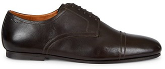 Bally Cap Toe Leather Derby Shoes