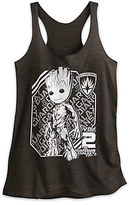 Disney Groot Heathered Tank Tee for Women - Guardians of the Galaxy Vol. 2