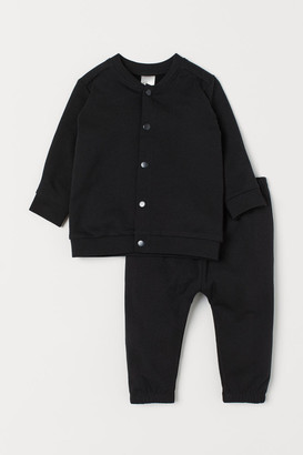 H&M Cardigan and trousers