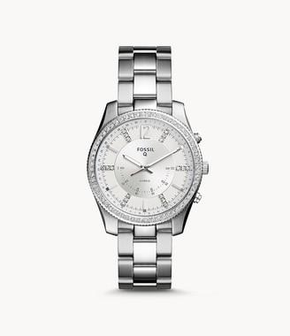 Fossil Hybrid Smartwatch Scarlette Stainless Steel Jewelry
