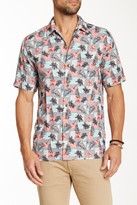 Tommy Bahama Castaway Coast Silk Short Sleeve Original Fit Shirt