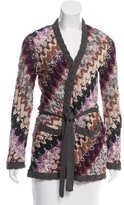 Missoni Wool-Blend Knit Patterned Cardigan
