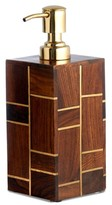 Kassatex Melrose Rosewood Lotion Dispenser