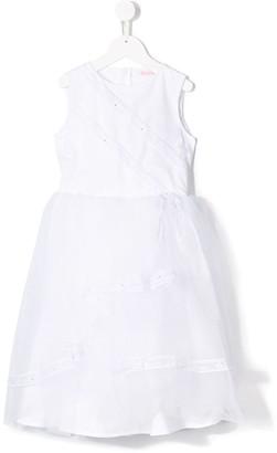 Miss Blumarine Tulle Panel Dress