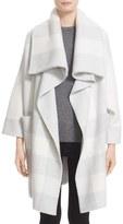 Burberry Women's Check Wool Blend Sweater Jacket