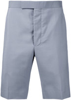 Thom Browne classic chino shorts - men - Mohair/Wool - 2