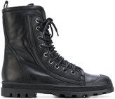 Diesel Black Gold lace-up boots - men - Leather/rubber - 40