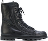 Diesel Black Gold lace-up boots