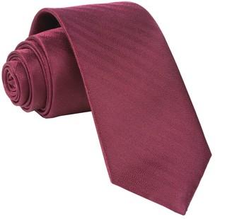 MUMU Weddings - Desert Solid Merlot Tie