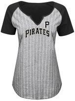 Profile Women's Pittsburgh Pirates From The Stretch Plus Size T-Shirt
