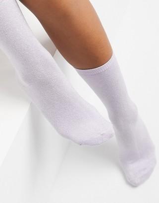 Vero Moda socks in lilac