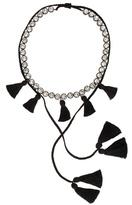 Shourouk Line Pompom necklace