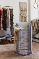Urban Outfitters Indigo Shibori Standing Laundry Bag Hamper