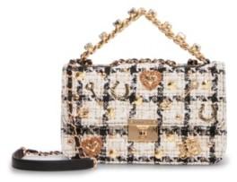 Betsey Johnson Top Drawer Boucle Bag
