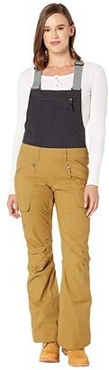 The North Face Freedom Bib (British Khaki/TNF Black) Women's Casual Pants