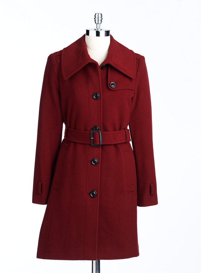 London Fog Envelope Collar Coat
