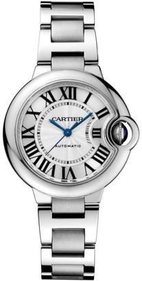 Cartier Ballon Bleu de Stainless Steel Bracelet Watch/33MM