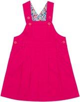 Jo-Jo JoJo Maman Bebe Twill Overall Dress (Toddler) - Rhubarb-3-4
