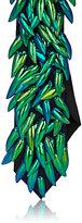 Title of Work Men's Beetle-Wing-Embellished Wool Necktie