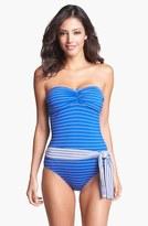 Tommy Bahama 'Mingling' One Piece Bandeau Swimsuit